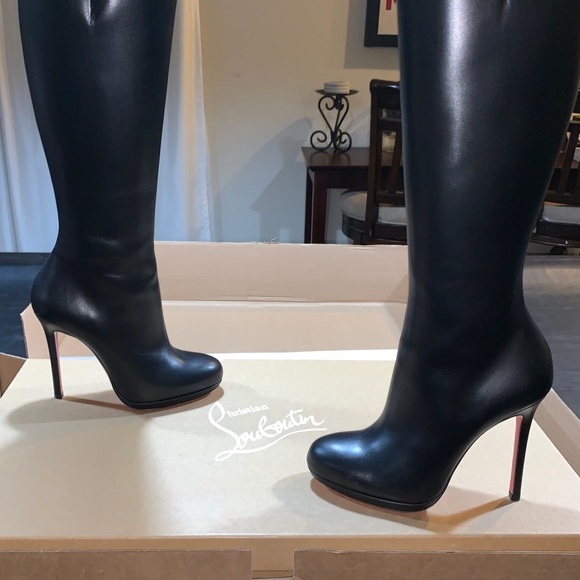 785d9c77f2c CHRISTIAN LOUBOUTIN 'BALILI' tall leather boots Boutique